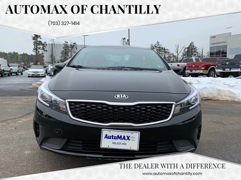 2017 Kia Forte for sale at Automax of Chantilly in Chantilly VA