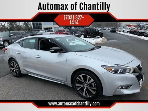 2018 Nissan Maxima for sale in Chantilly, VA