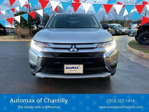 2018 Mitsubishi Outlander for sale at Automax of Chantilly in Chantilly VA