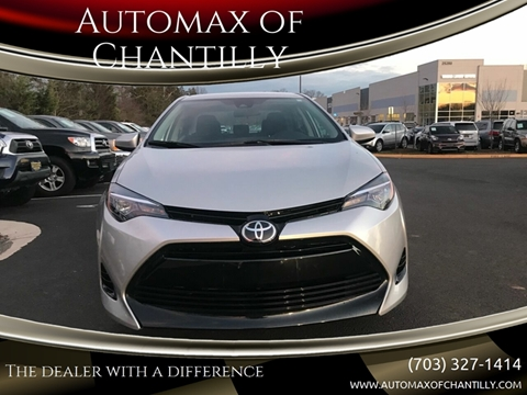 2018 Toyota Corolla for sale at Automax of Chantilly in Chantilly VA