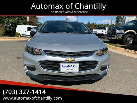 2018 Chevrolet Malibu for sale in Chantilly, VA