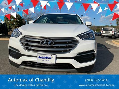 2018 Hyundai Santa Fe Sport for sale at Automax of Chantilly in Chantilly VA