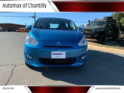 2015 Mitsubishi Mirage for sale at Automax of Chantilly in Chantilly VA