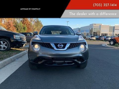 2017 Nissan JUKE for sale at Automax of Chantilly in Chantilly VA