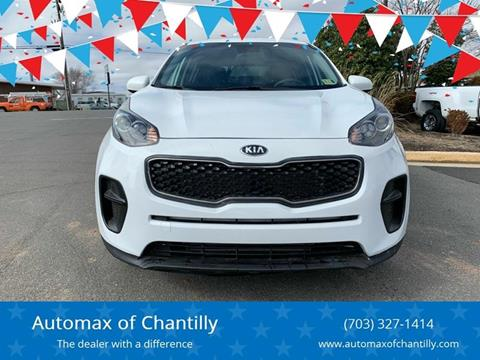 2019 Kia Sportage for sale at Automax of Chantilly in Chantilly VA
