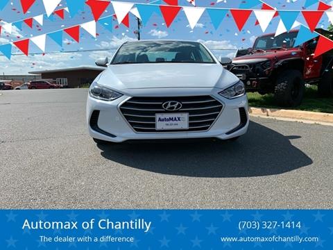 2018 Hyundai Elantra for sale at Automax of Chantilly in Chantilly VA