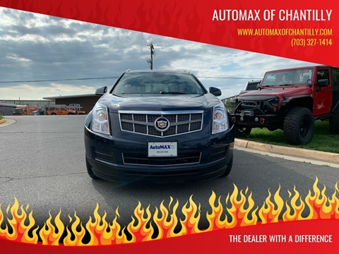 2010 Cadillac SRX for sale at Automax of Chantilly in Chantilly VA
