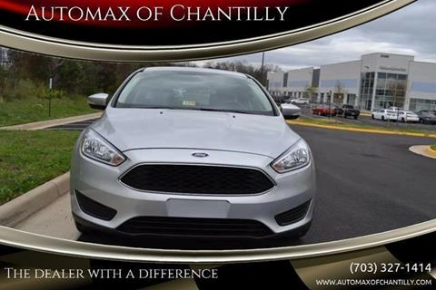 2018 Ford Focus for sale at Automax of Chantilly in Chantilly VA