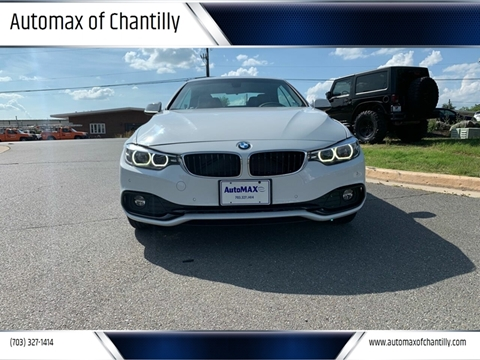 2018 BMW 4 Series for sale in Chantilly, VA