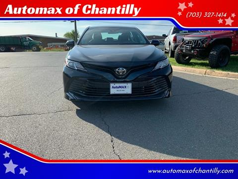 2018 Toyota Camry for sale in Chantilly, VA