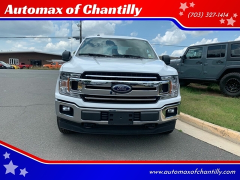 2018 Ford F-150 for sale at Automax of Chantilly in Chantilly VA