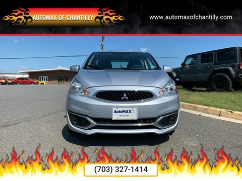 2018 Mitsubishi Mirage for sale at Automax of Chantilly in Chantilly VA