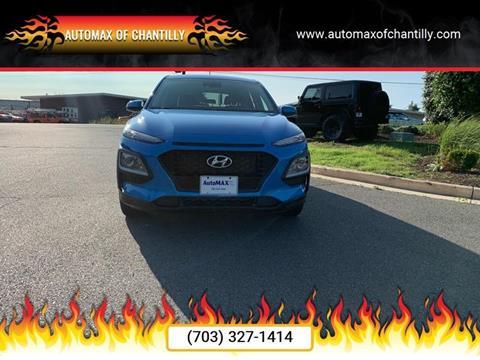 2019 Hyundai Kona for sale at Automax of Chantilly in Chantilly VA