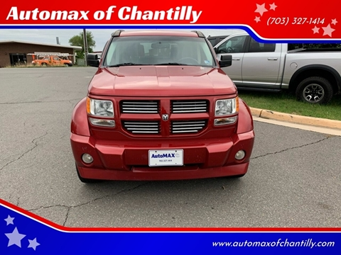 2007 Dodge Nitro for sale at Automax of Chantilly in Chantilly VA