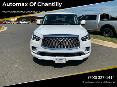 2019 Infiniti QX80 for sale at Automax of Chantilly in Chantilly VA