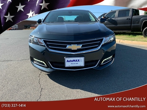 2018 Chevrolet Impala for sale at Automax of Chantilly in Chantilly VA
