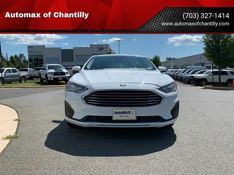2019 Ford Fusion Hybrid for sale at Automax of Chantilly in Chantilly VA
