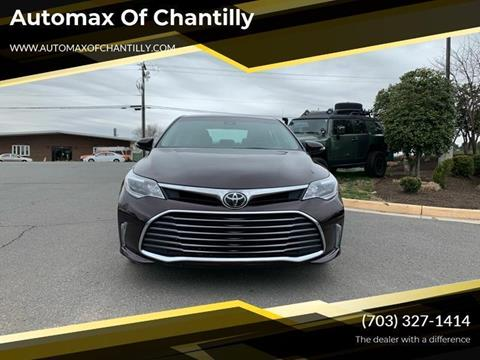 2018 Toyota Avalon for sale at Automax of Chantilly in Chantilly VA