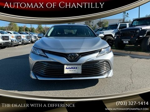 2018 Toyota Camry for sale at Automax of Chantilly in Chantilly VA