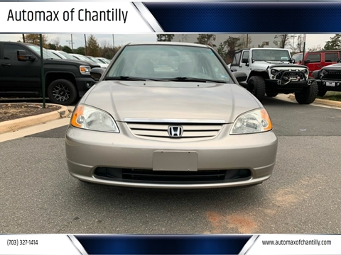 2003 Honda Civic for sale at Automax of Chantilly in Chantilly VA