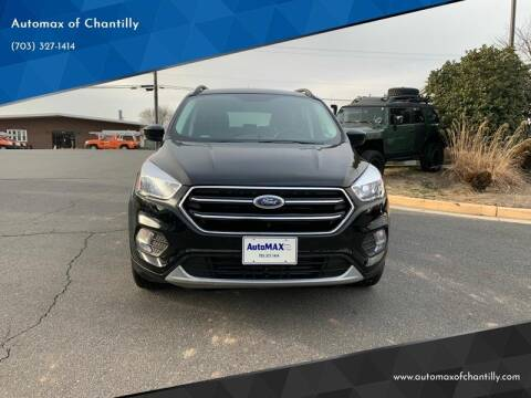 2018 Ford Escape for sale at Automax of Chantilly in Chantilly VA