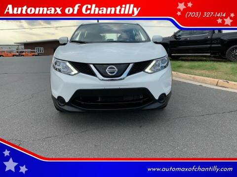 2019 Nissan Rogue Sport for sale at Automax of Chantilly in Chantilly VA