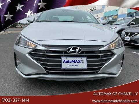 2019 Hyundai Elantra for sale in Chantilly, VA