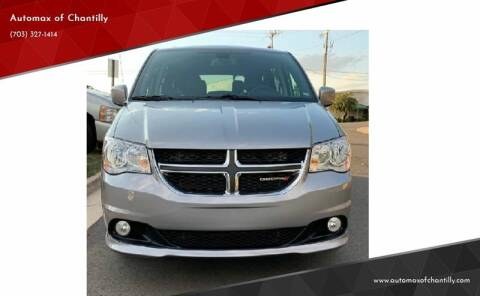 2019 Dodge Grand Caravan for sale at Automax of Chantilly in Chantilly VA