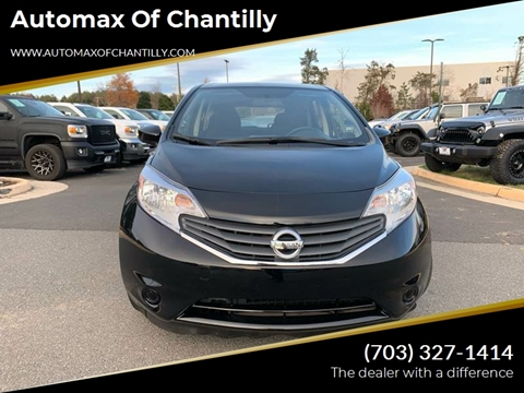 2016 Nissan Versa Note for sale at Automax of Chantilly in Chantilly VA