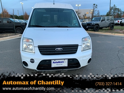 2012 Ford Transit Connect for sale at Automax of Chantilly in Chantilly VA
