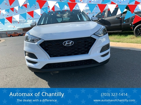 2019 Hyundai Tucson for sale at Automax of Chantilly in Chantilly VA