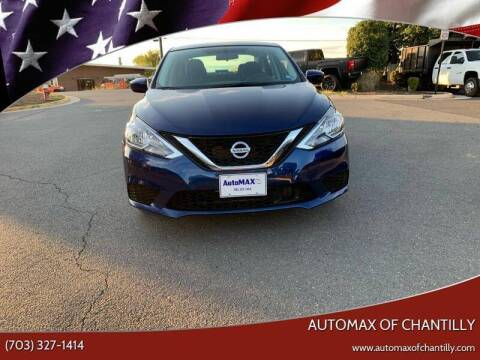 2019 Nissan Sentra for sale at Automax of Chantilly in Chantilly VA