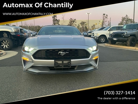 2020 Ford Mustang for sale at Automax of Chantilly in Chantilly VA