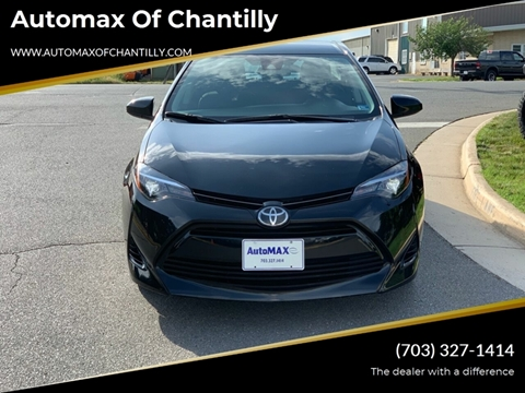 2019 Toyota Corolla for sale at Automax of Chantilly in Chantilly VA