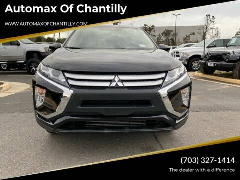 2019 Mitsubishi Eclipse Cross for sale at Automax of Chantilly in Chantilly VA