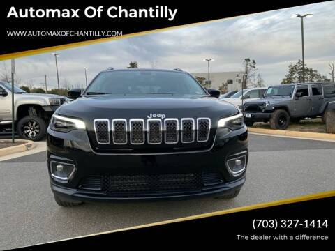 2019 Jeep Cherokee for sale at Automax of Chantilly in Chantilly VA