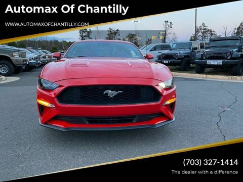2019 Ford Mustang for sale at Automax of Chantilly in Chantilly VA