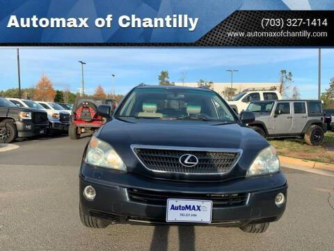 2006 Lexus RX 400h for sale at Automax of Chantilly in Chantilly VA
