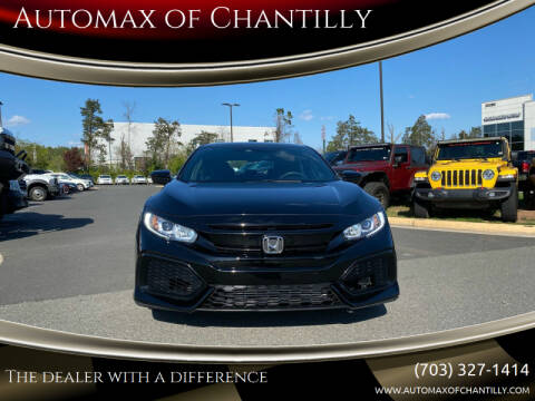 2019 Honda Civic for sale at Automax of Chantilly in Chantilly VA