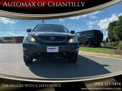 2004 Lexus RX 330 for sale at Automax of Chantilly in Chantilly VA