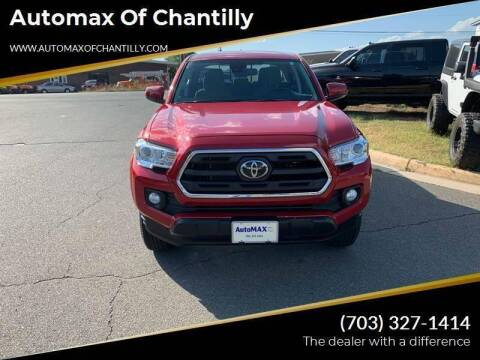 2019 Toyota Tacoma for sale at Automax of Chantilly in Chantilly VA