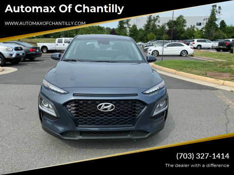 2020 Hyundai Kona for sale at Automax of Chantilly in Chantilly VA