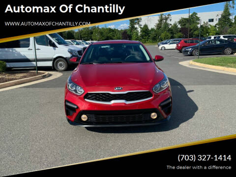 2019 Kia Forte for sale at Automax of Chantilly in Chantilly VA