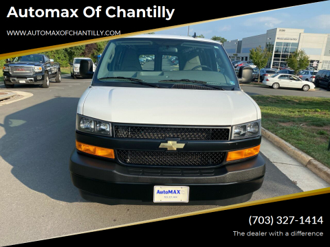 2020 Chevrolet Express Cargo for sale at Automax of Chantilly in Chantilly VA