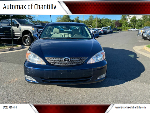 2003 Toyota Camry for sale at Automax of Chantilly in Chantilly VA