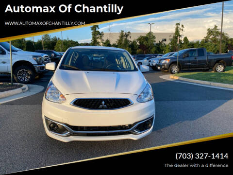 2019 Mitsubishi Mirage for sale at Automax of Chantilly in Chantilly VA