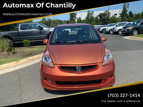 2008 Honda Fit for sale at Automax of Chantilly in Chantilly VA