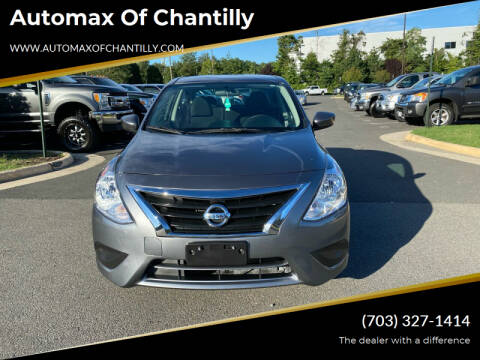 2019 Nissan Versa for sale at Automax of Chantilly in Chantilly VA