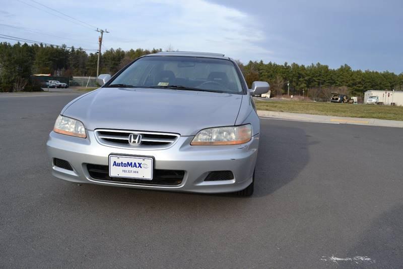 2002 Honda Accord for sale at Automax of Chantilly in Chantilly VA