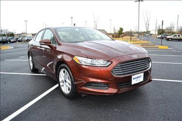 2016 Ford Fusion for sale at Automax of Chantilly in Chantilly VA